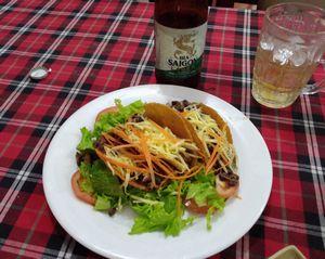 ベトナムで、多国籍料理を食べる (メキシコ・イタリア)