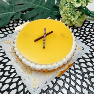 レモンのレアチーズタルト