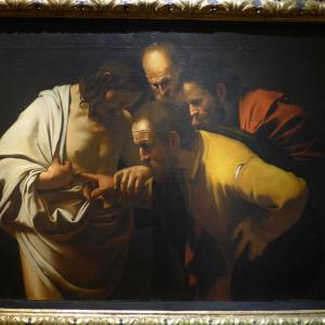 「エルサレムでの弟子たちへの顕現と疑うトマスへの顕現」 ヨハネによる福音書20章19~31節
