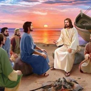 「イエスのティべリアス湖畔での顕現」  ヨハネによる福音書21章1~14節