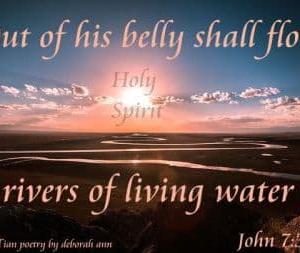 「キリストの昇天ー生ける水があなたの内から川となって流れる」 ヨハネによる福音書7章32~39節