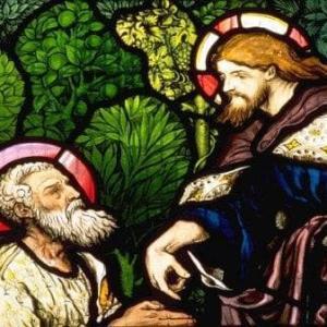 「復活のイエスとペトロ」 ヨハネによる福音書21章15~19節