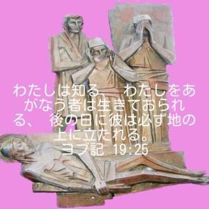 「苦難を受けたヨブー生ける神の声を求める」 ヨブ記42章1~6節