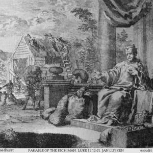 「『愚かな金持』のたとえ」 ルカによる福音書12章16-27