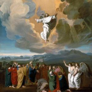 「キリストの昇天」  マタイによる福音書28章16~20節