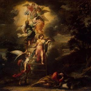「ヤコブの見た天からの階段」 創世記28章10~22節