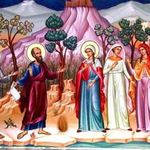 「女性の働き」 フィリピの信徒への手紙4章1~3節