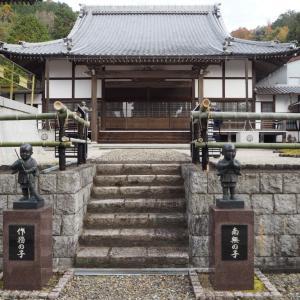 十二月本年最後の布教=京都山科「永興寺」様へ