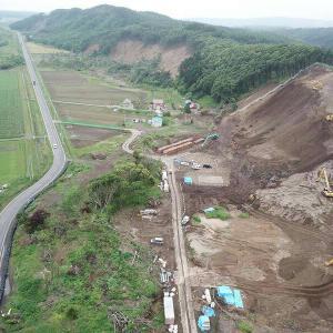 胆振東部地震で壊滅的な被害を受けた厚真町吉野地区へ