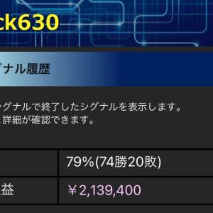 Stock630本日の売却結果