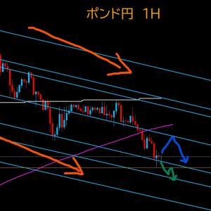 【FX相場解説】ポンド円、下落が続く。 2020年6月11日(木)のポンド円相場分析