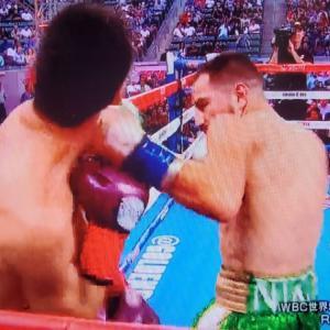 観戦記1778-2 WBCスーパーバンタム級王座戦 レイ・バルガスvsロニー・リオス