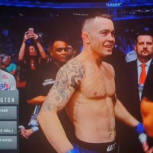 観戦記1781 UFC225 ウェルター級暫定王座決定戦 ハファエル・ドス・アンジョスvsコルビ