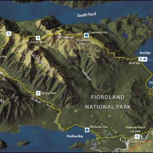 Kepler Track in Fiordland National Park Day1 〜 Kepler Track Carpark to Luxmore Hut 〜