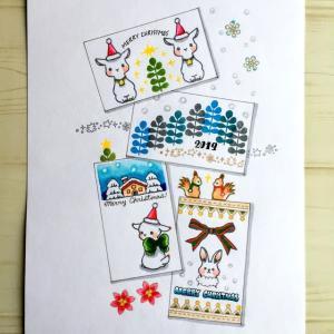 koyagiオリジナルクリアスタンプセット・Sweet Friends・クリスマス