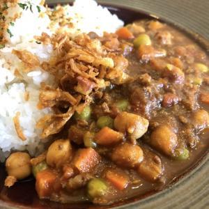 お豆たっぷりキーマカレー BENCH(カリーラリー45)