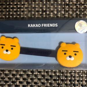 KAKAO FRIENDSのケーブルホルダー