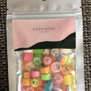 仁川空港第1ターミナルの「DORE DORE」で買ったキャンディ