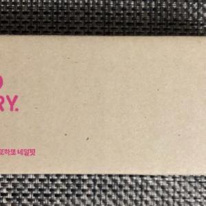韓国行く前に買ってみた「ネイルシール」