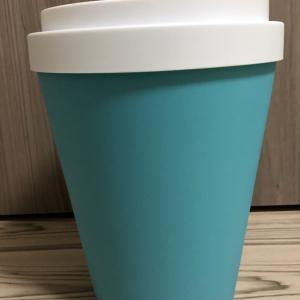 韓国のお友達からのプレゼント「コーヒーカップのゴミ箱」