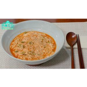 韓国手作りゴマラーメン♪(๑ᴖ◡ᴖ๑)♪