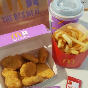 韓国のお友達が食べたお昼ご飯(๑>◡<๑)