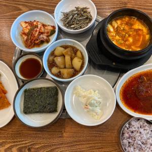 韓国チングのお昼ご飯(^O^)