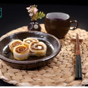 干し柿とキムチが合う韓国料理(^○^)