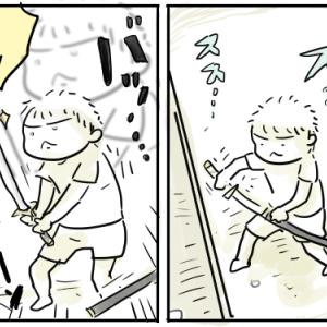 少年そうま、日本刀への憧れ【そうま6歳】