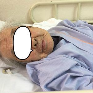 102歳の母 腰椎圧迫骨折で入院