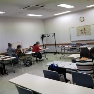 神無月の教室模様○◯。創作roomラボロ、高根台カルチャー♪