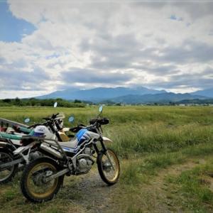 週末は山バイク活動