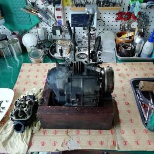 FIカブのジャンクエンジン検証