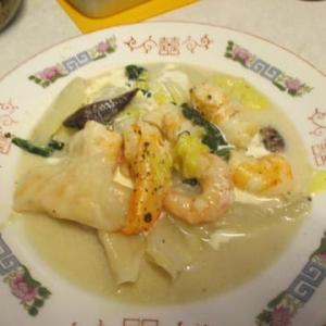 白菜の中華ミルク煮