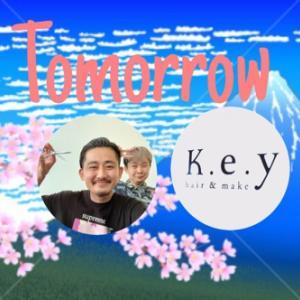 緊急告知!明日15日(月)表参道K.e.yで営業します