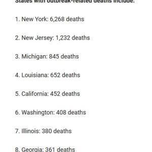 アメリカ コロナ感染のの温度差