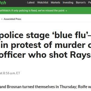 """""""「黒人男性が射殺されたのは""""その裏に隠された別の事実"""