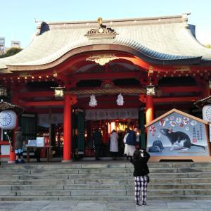 神戸の生田神社に行きました