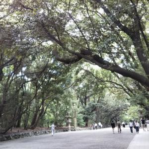 熱田神宮に行きました。