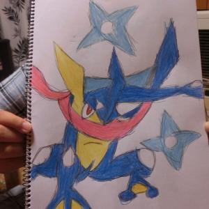 息子が描いたポケモン