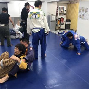 ブラジリアン柔術日和な日曜日。