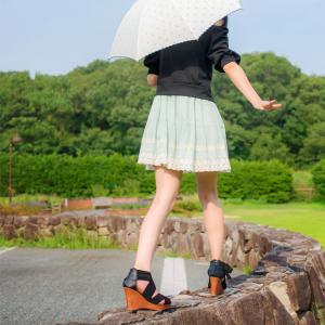 綾さんと公園女性ポートレートの作品②:Lovely Portrait Photos of Japanese Woman