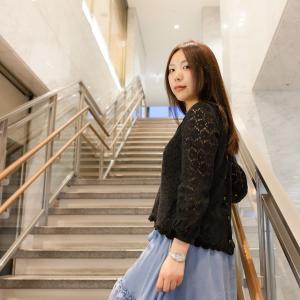女性夜景ポートレート写真の作品「桃華さんと京都夜景ポートレート①」(Lovely Photo Gallery更新情報)