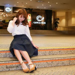 春の横浜で撮影をしてきました「みみたさんと横浜みなとみらい夜景ポートレート」Lovely Portrait Photos of Japanese Woman