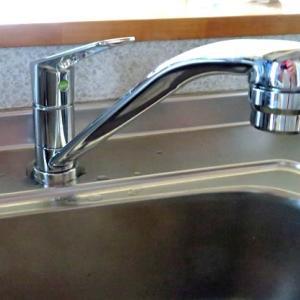 台所の蛇口が水漏れし取替え