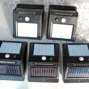 LEDソーラー充電式照明