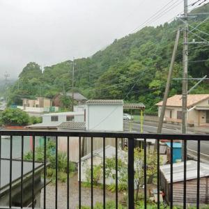 今日も雨天は続く