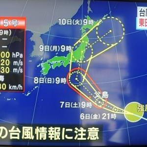 今年は台風発生が多いか?