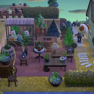 【あつ森】島クリSEASON1 #02|レイジと営むグリーンショップと自宅