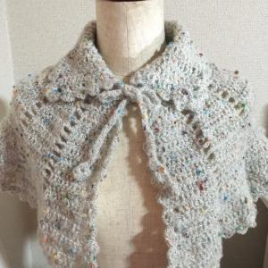yumimomo倶楽部 かぎ針編みケープを編みましょう